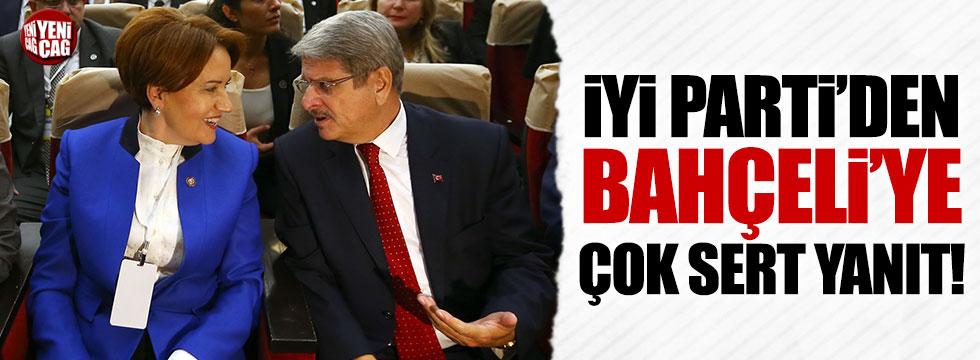 İYİ Parti'den Devlet Bahçeli'ye cevap