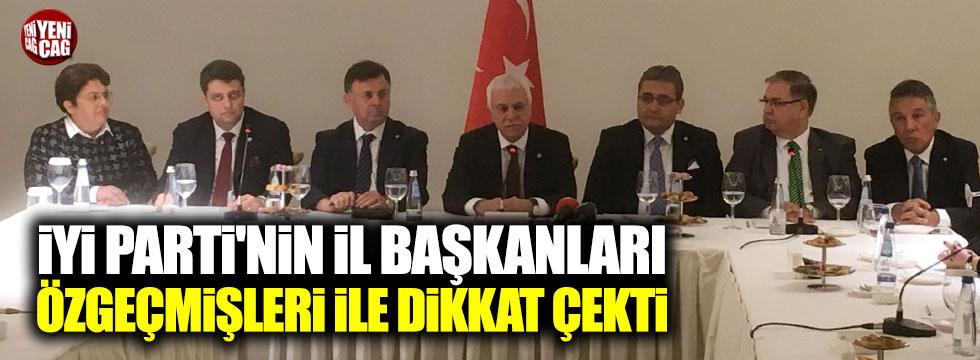 İYİ Parti'nin il başkanları özgeçmişleri ile dikkat çekti