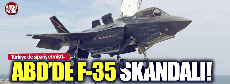 Türkiye de sipariş etmişti: F-35 uçakları pas tuttu