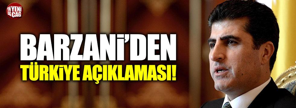 """Barzani: """"Türkiye ile görüşmek istiyoruz"""""""