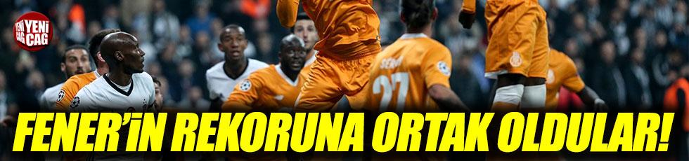 Beşiktaş, Fenerbahçe'nin rekorunu egale etti