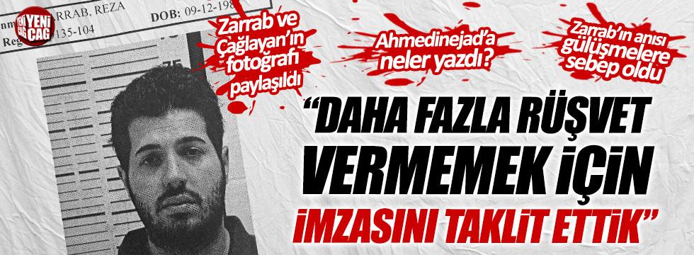 """Reza Zarrab: """"Daha fazla rüşvet vermemek için imzasını taklit ettik"""""""