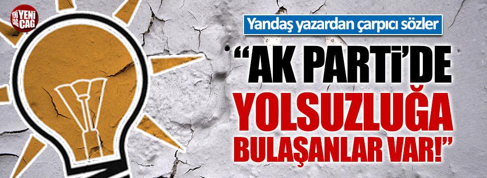 """Yandaş gazeteci Cem Küçük: """"AK Parti'de yolsuzluğa bulaşanlar var"""""""