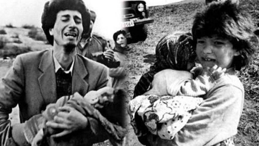 Ermenistan'ın Hocalı katliamı. Unutanın kalbi kurusun. Dünya döndükçe rüzgar estikçe insanoğlu nefes aldıkça unutmayacağız