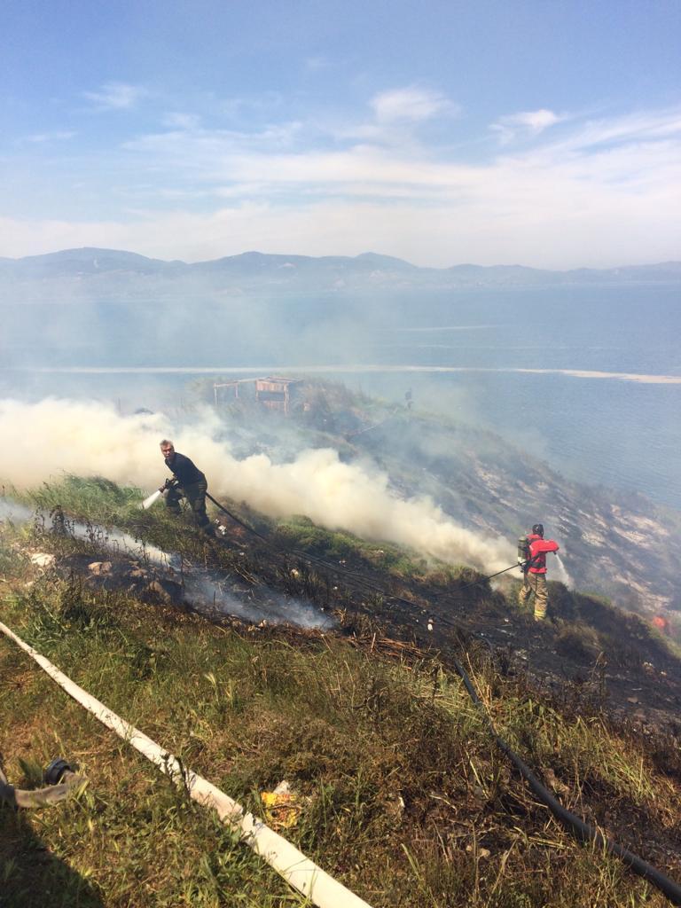 Bandırma'da çıkan yangının verdiği hasar açıklandı