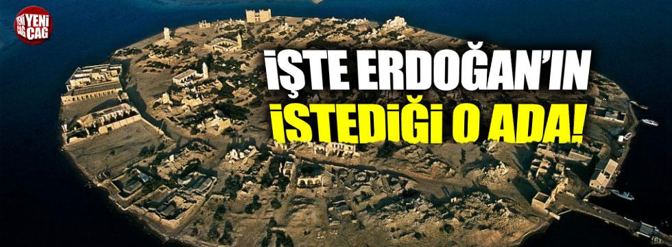 Erdoğan'ın Sudan'dan istediği ada