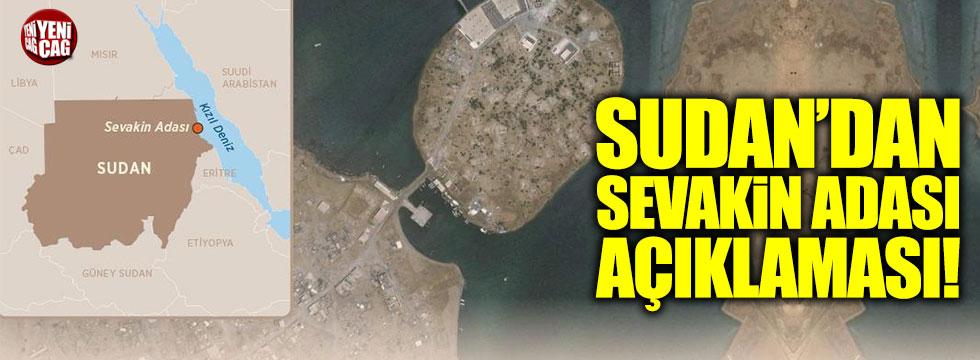 Sudan'dan Sevakin Adası açıklaması!