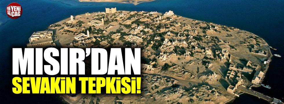 Mısır'dan Sevakin Adası tepkisi