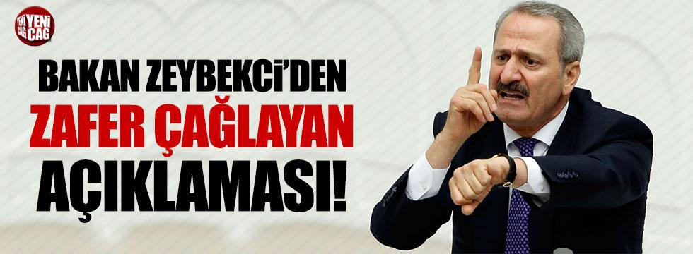 Nihat Zeybekci'den Zafer Çağlayan açıklaması