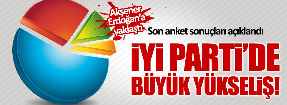 Son anket sonuçları açıklandı: Akşener'le Erdoğan arasındaki fark kapanıyor!