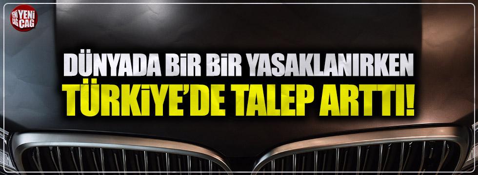 Türkiye'de dizel araçlara talep arttı