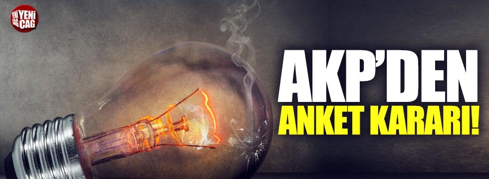 AKP'den anket kararı