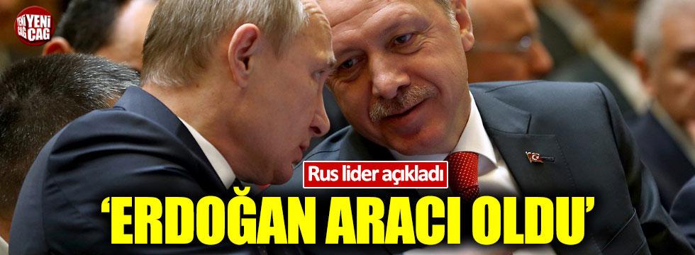 Putin: Erdoğan'ın aracılığıyla sivilleri tahliye ettik