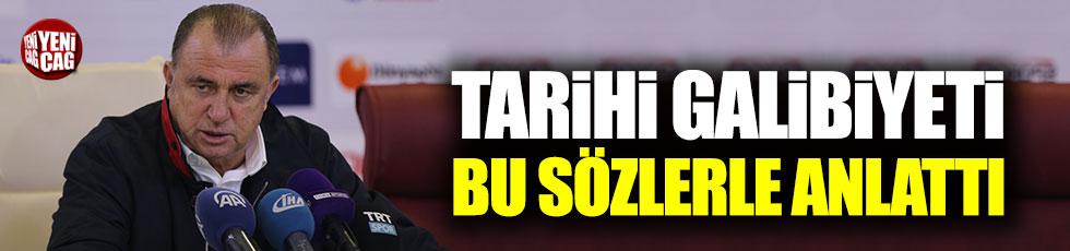 Fatih Terim 7-0'lık galibiyetin sırrını açıkladı