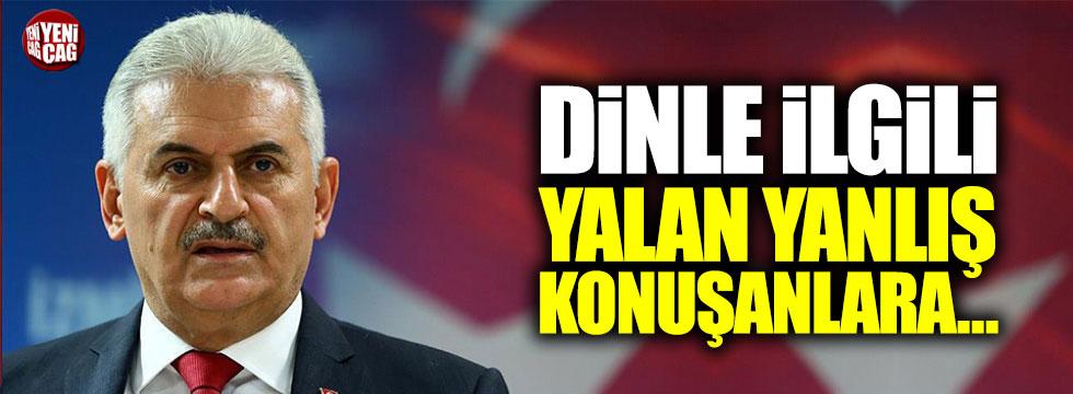 Başbakan Yıldırım'dan Diyanet açıklaması