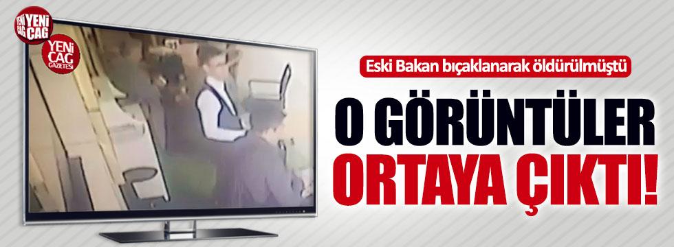 Eski bakan Ercan Vuralhan'ın öldürülme anı