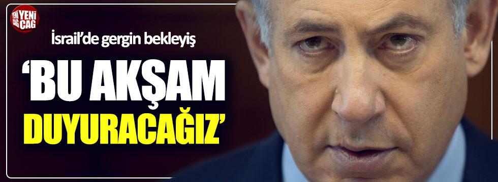 Netanyahu, İran ile ilgili açıklama yapacak