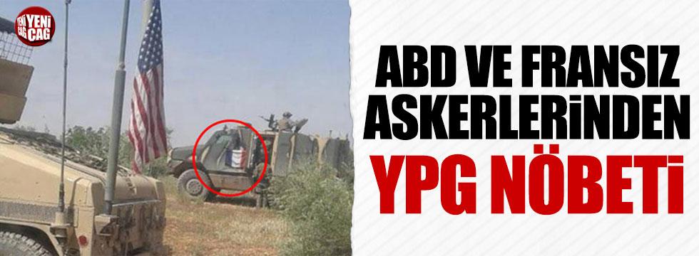 Fransız askerler PKK kontrolündeki bölgede nöbet tutuyor