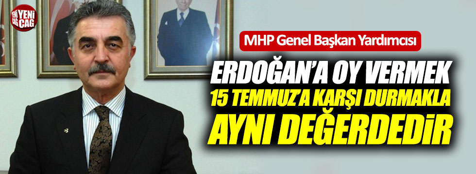 MHP'li Büyükataman'dan Cumhur İttifakı yorumu