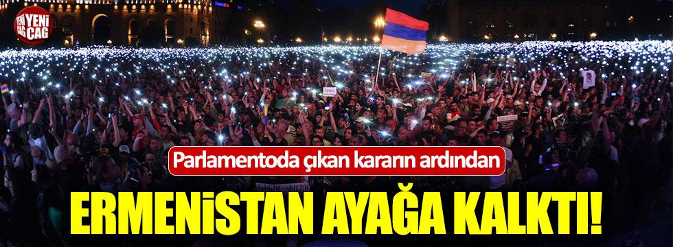 Ermenistan karıştı