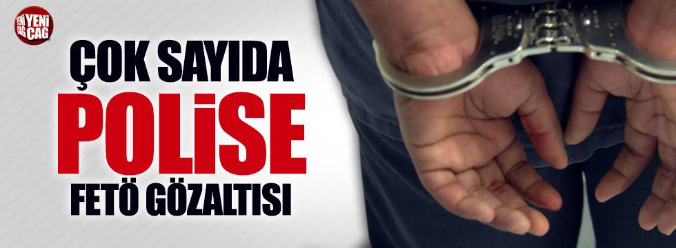 27 polise FETÖ gözaltısı