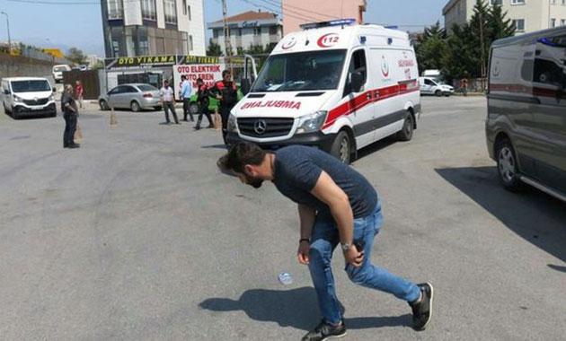 Ümraniye'de silahlı saldırı