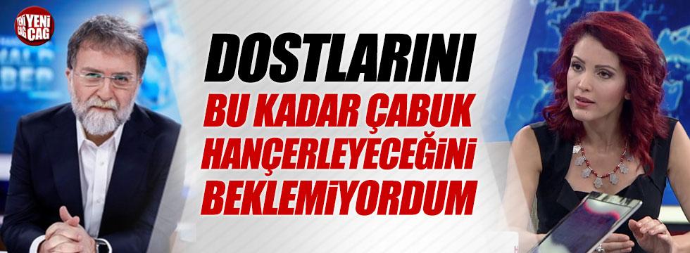Nagehan Alçı'dan Ahmet Hakan'a sert eleştiri