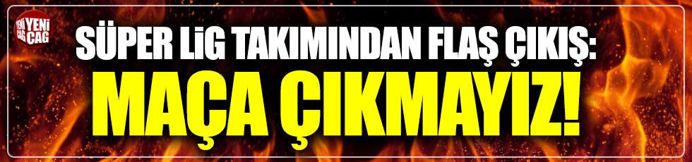 """Kayserispor'dan Beşiktaş açıklaması: """"Maça çıkmayız"""""""