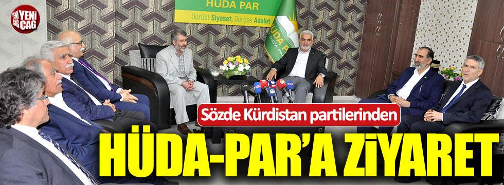 Sözde 'Kürdistan' partilerinden Hüda-Par'a ziyaret