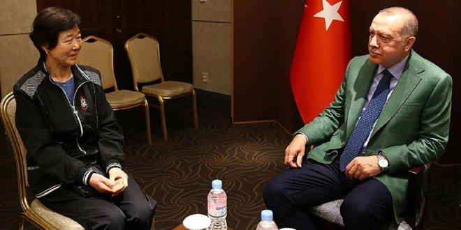 Erdoğan, 'Ayla' ile buluştu