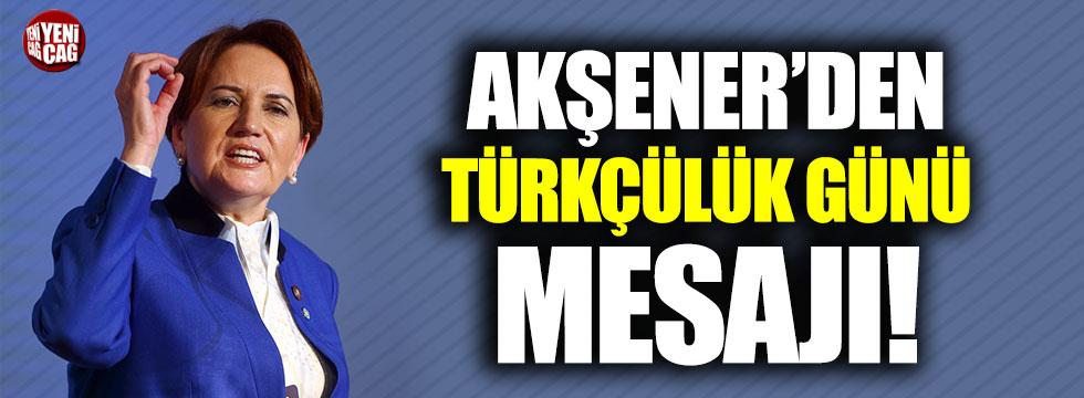 Meral Akşener'den dikkat çeken 3 Mayıs paylaşımı