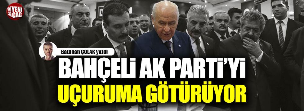 Bahçeli AK Parti'yi uçuruma götürüyor