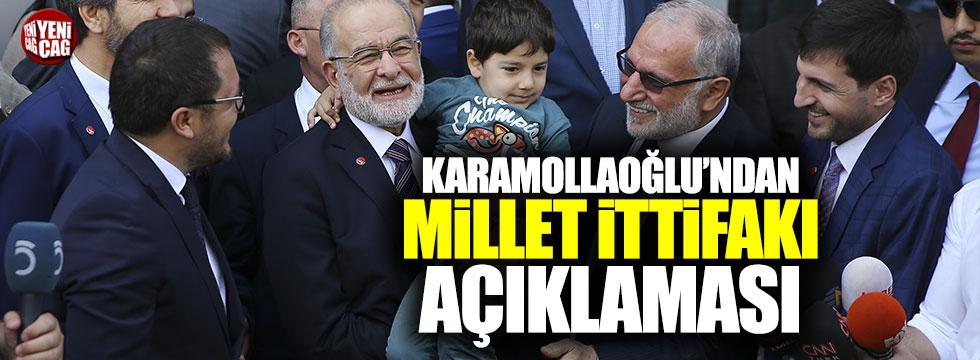 Karamollaoğlu'ndan 'millet ittifakı' açıklaması