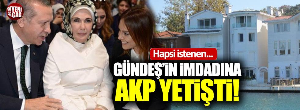 Gündeş'in imdadına AKP yetişti