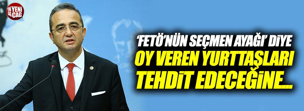 Bülent Tezcan'dan Bahçeli'ye sert sözler