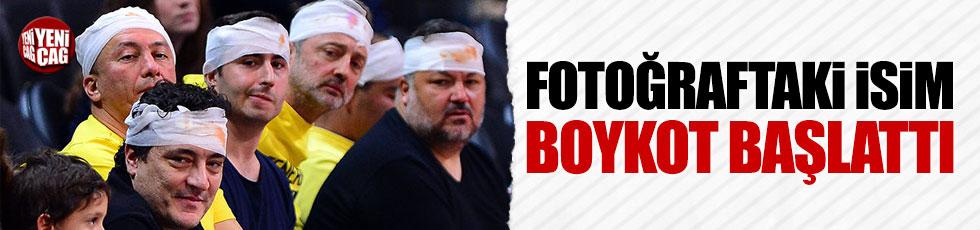 Beşiktaş taraftarından QNB Finansbank'a ağır yaptırım!