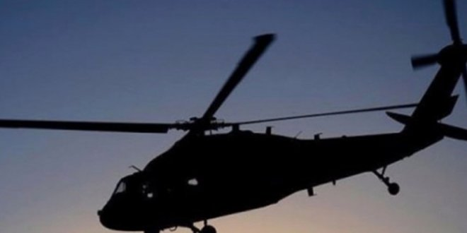 Suriye'de Rus savaş helikopteri düştü