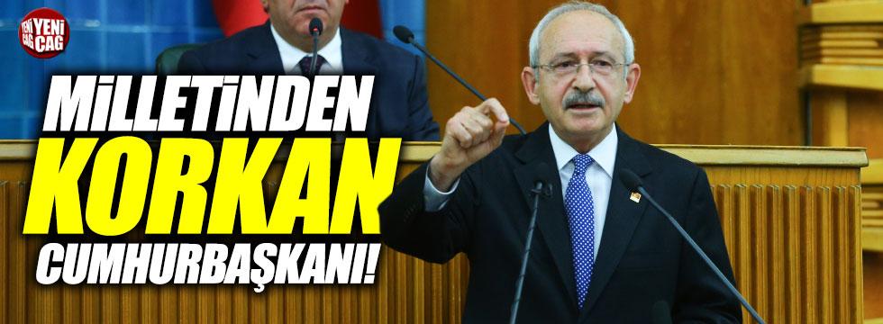 Kılıçdaroğlun'dan Erdoğan'a tepki