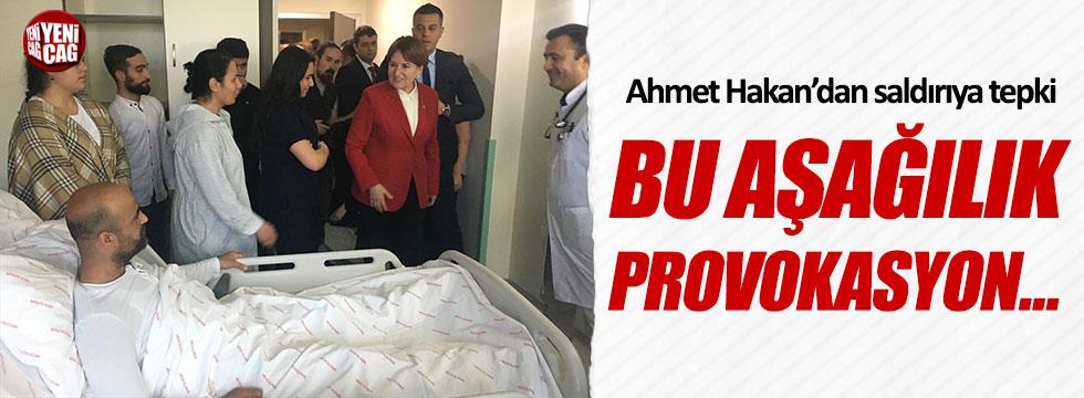 """Ahmet Hakan'dan İYİ Parti'ye yapılan saldırıya tepki: """"Bu aşağılık provokasyon..."""""""