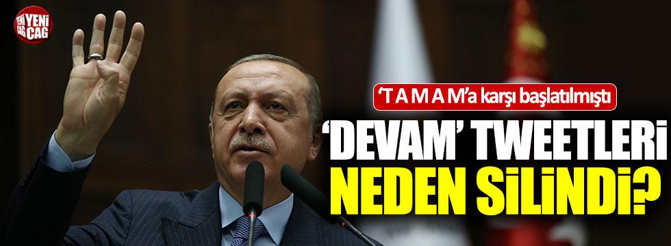 """AKP'liler bot hesaplarla """"Devam"""" dedi"""
