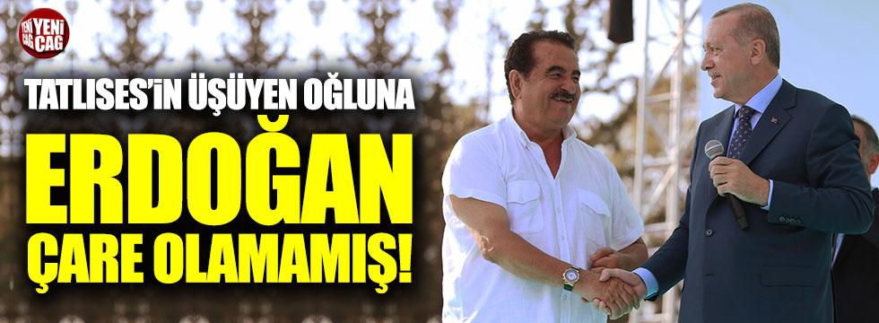İbrahim Tatlıses'in oğlundan Erdoğan'ı kızdıracak tweet!