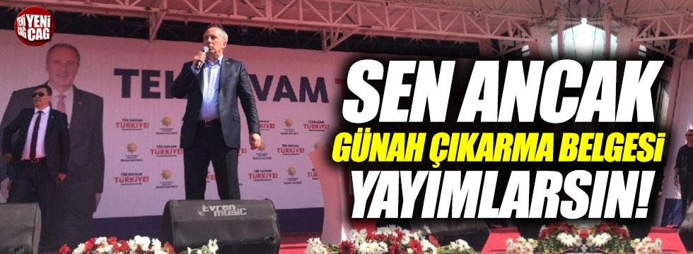 İnce'den Erdoğan'a manifesto tepkisi