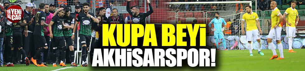 Ziraat Türkiye Kupası Akhisarspor'un