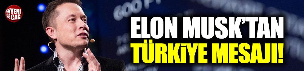 Elon Musk'tan Türkiye paylaşımı