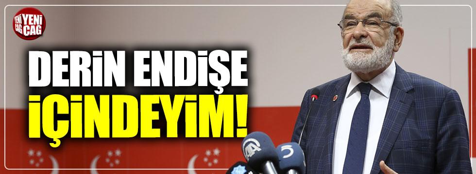 """Temel Karamollaoğlu: """"Derin endişe içindeyim"""""""