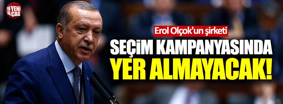 Erol Olçok'un şirketi, AKP'nin seçim kampanyasında yer almayacak