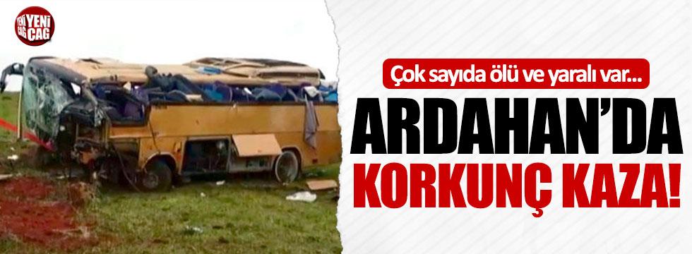 Ardahan'da korkunç kaza