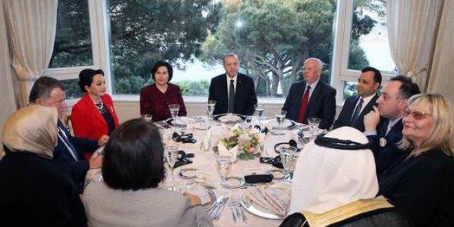 Erdoğan yüksek yargı ile yemekte buluştu