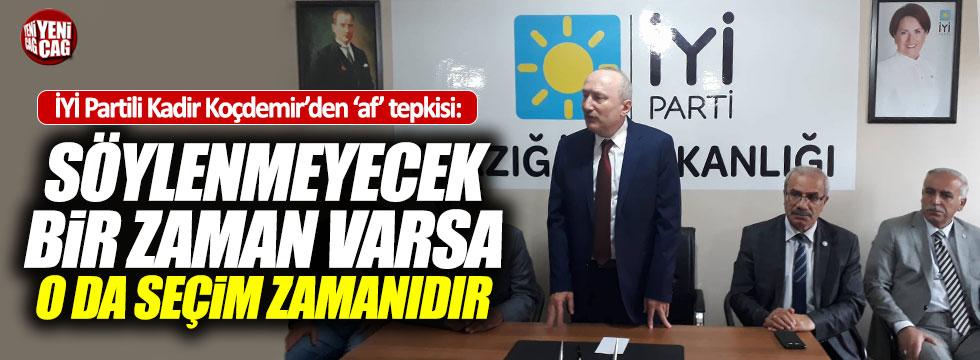 İYİ Parti'ye geçen Koçdemir'den 'af' açıklaması