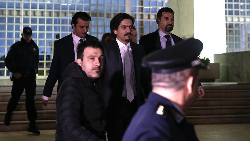 Yunanistan'da bir FETÖ'cü daha serbest bırakıldı
